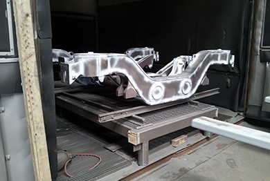 Railcar Truck Frames and Bolster Assemblies